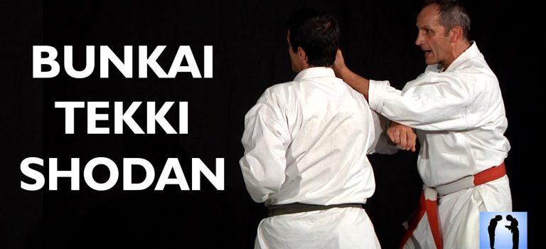 VIDEO Bunkai Tekki Shodan